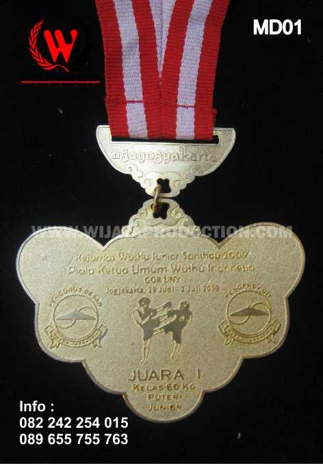 medali kejurnas wushu