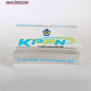 Plakat Akrilik KPPN Yogyakarta plakat akilik murah