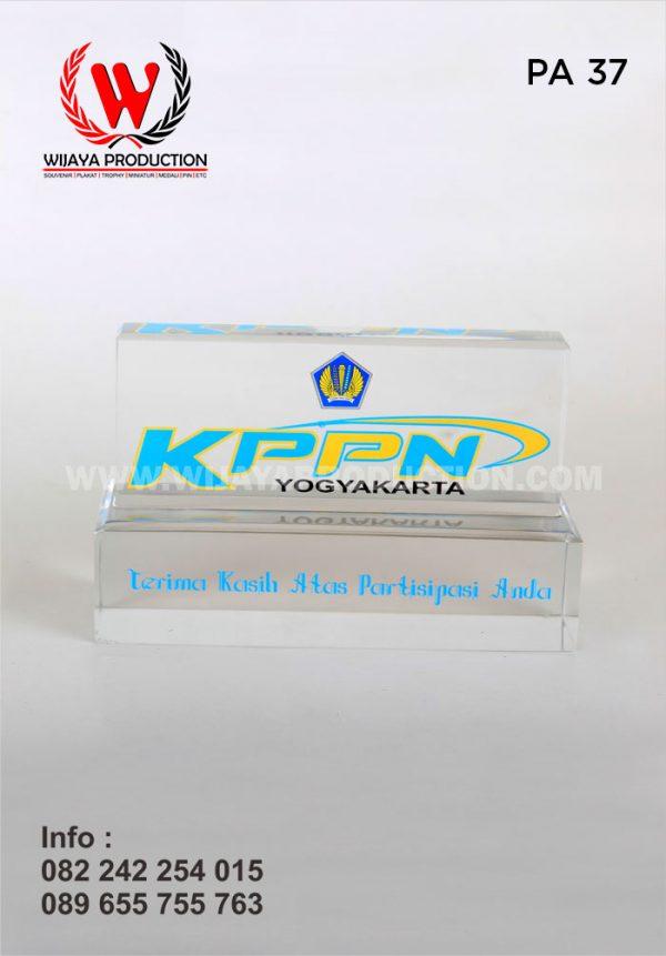 Plakat Akrilik KPPN Yogyakarta